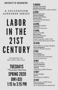 UW Bothell Labor Series