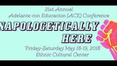 ACE conference; Unapologetically Here