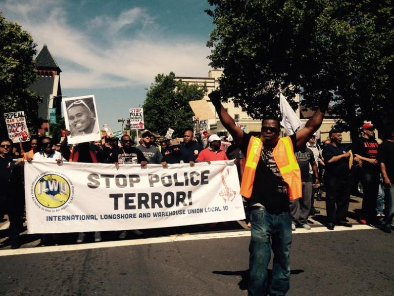 ILWU: Stop Police Terror